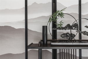 青岛160㎡中式风格装修效果图