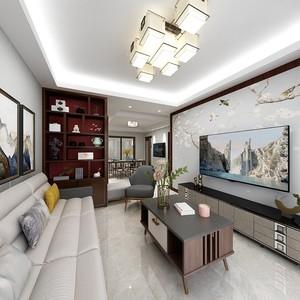 杭州78㎡现代简约装修效果图