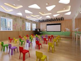 米瑞可國際幼兒園公園道分園裝修設計案例