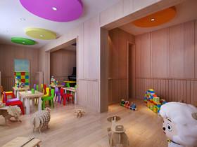 米瑞可國際幼兒園徐州路分園裝修設計案例