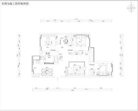 簡約風格 柳景家園 120㎡裝修設計案例