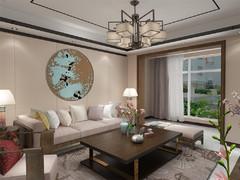 新中式 云锦世家 120㎡中式风格装修案例