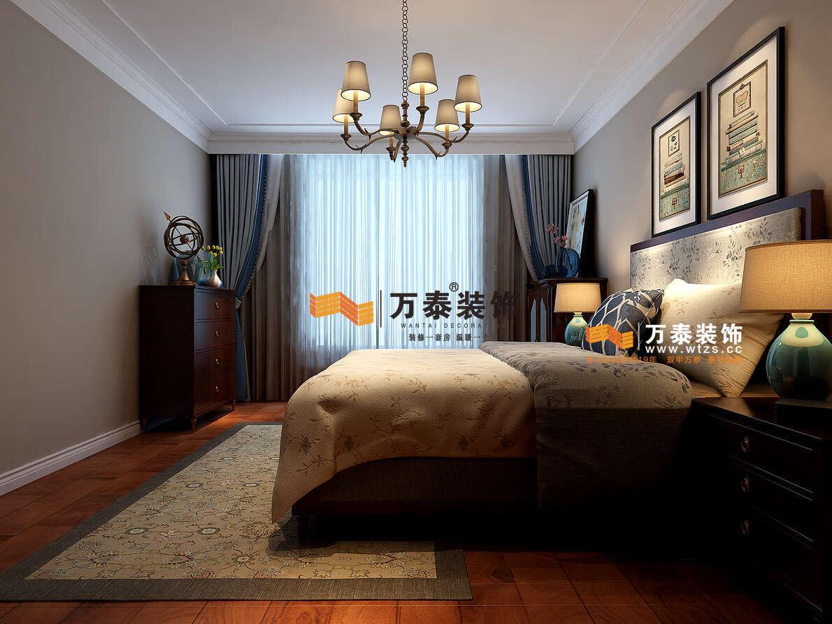 中海国际C2美式风格装修效果图