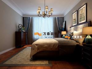 济南125㎡美式风格装修效果图