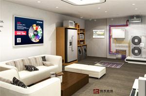济南300㎡现代简约装修效果图