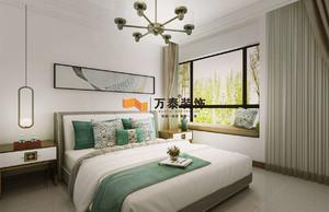 济南120㎡中式风格装修效果图