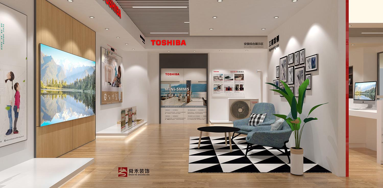 济南空调展示展厅装修设计公司欧式风格装修效果图