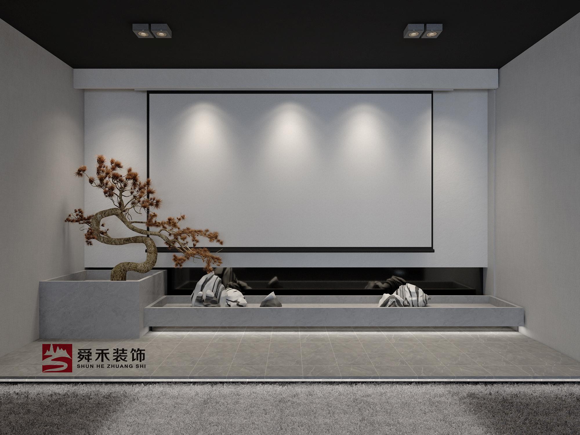 济南陶瓷展厅展馆艺术馆装修设计现代简约装修效果图