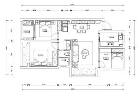 浦西玫瑰园装修设计案例