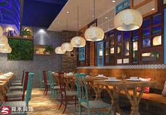 淄博原生态餐厅餐馆装修设计