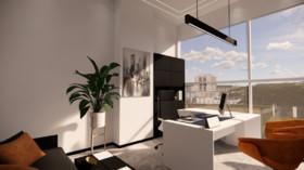 綠地之窗科技辦公裝修設計案例