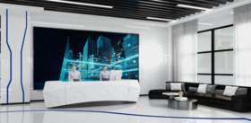 新華匯科技辦公展廳裝修設計案例