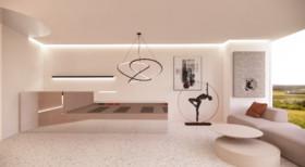 河西萬達瑜伽館裝修設計案例