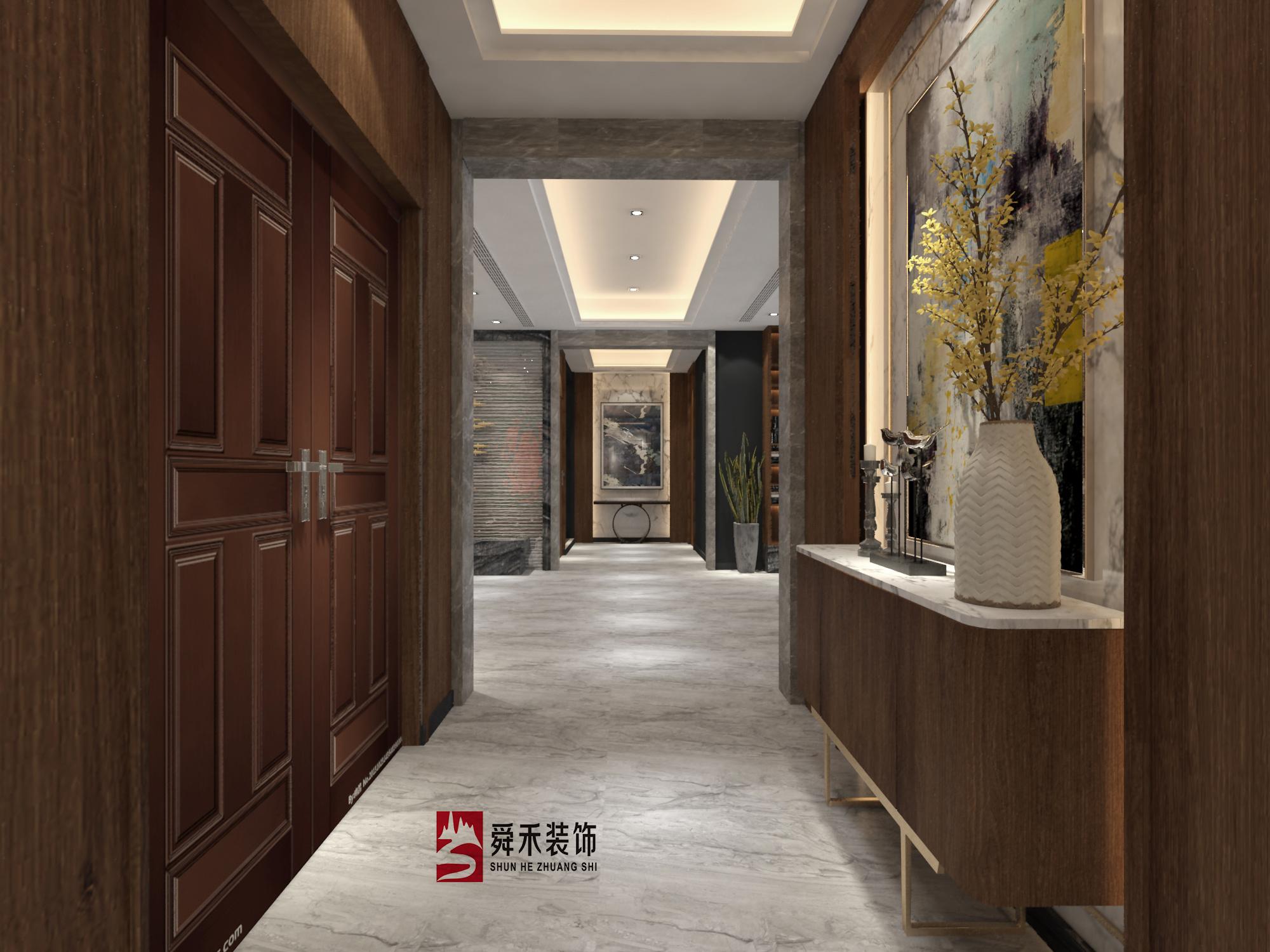 淄博独具特色品牌民宿装修设计现代简约装修效果图