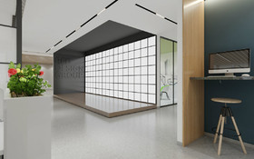 棲霞蘇堯大廈辦公室裝修設計案例