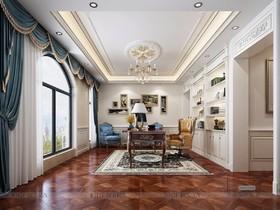 曦城別墅--混搭風格--1200平裝修設計案例