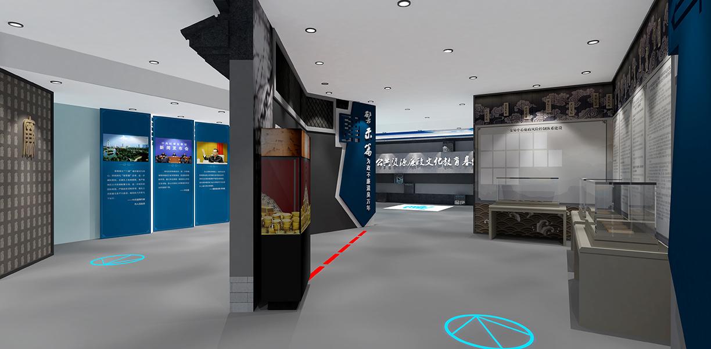 淄博设计社区街道党建馆党群服务中心的装修现代简约装修效果图