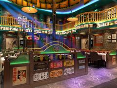 青岛做主题音乐餐厅饭店设计的餐饮装修公司