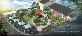 蘭山龍泉山莊二期改造裝修設計案例