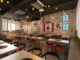 中海城胡同泥爐烤肉裝修設計案例
