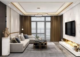 宏宇國際城三期裝修設計案例