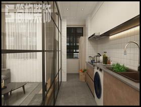 信德悅城98平工業風裝修設計案例裝修設計案例