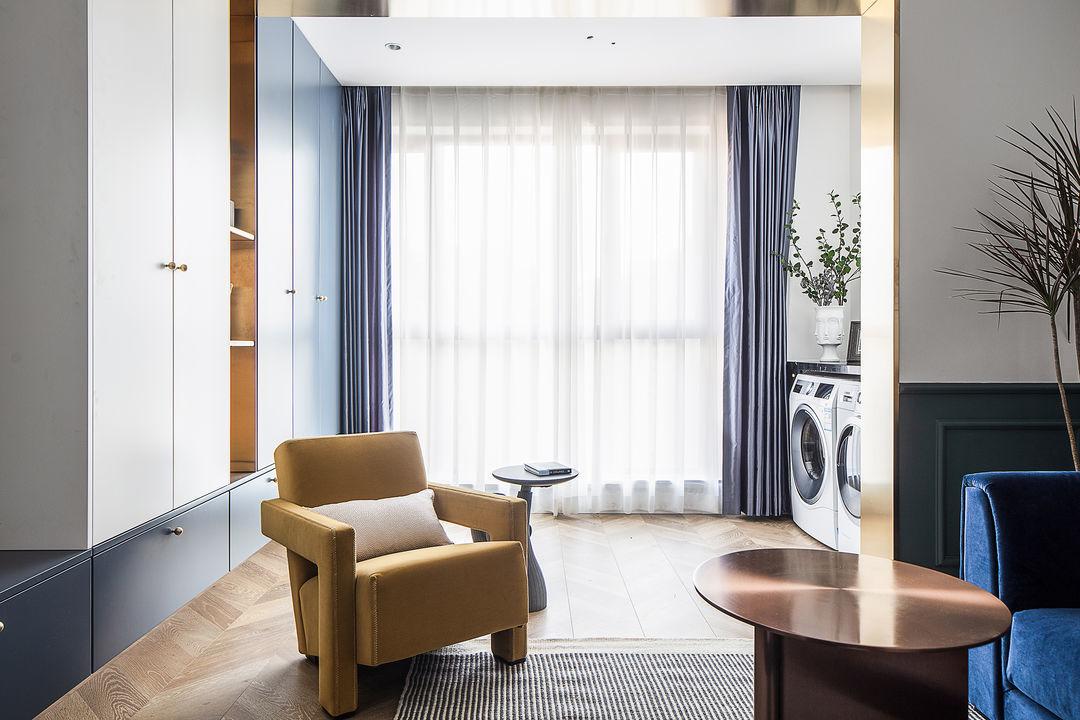 九洲湾星公寓欧式风格装修效果图