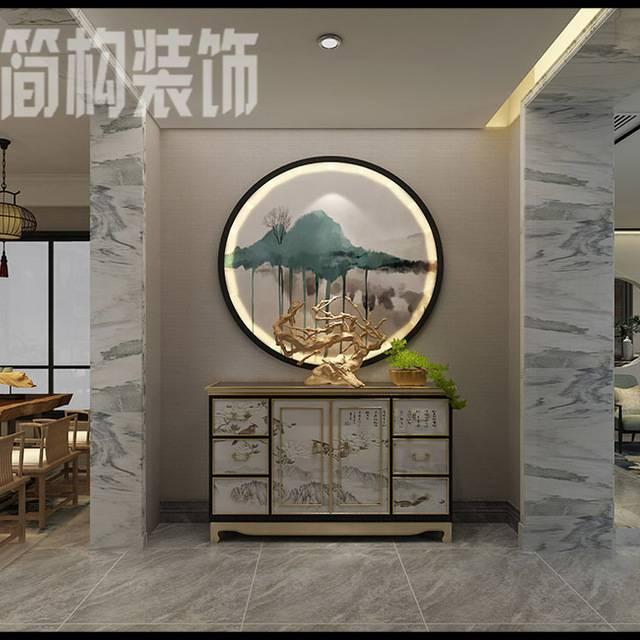 伟星和院500平米中式风格装修...500㎡别墅中式风格装修案例