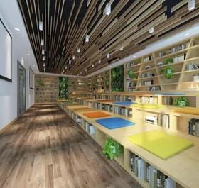 西安新業態書屋裝修設計案例