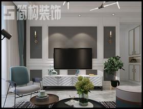 柏莊觀邸98平美式風格裝修設計案例裝修設計案例