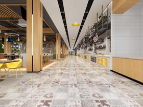 南苑食堂裝修設計案例