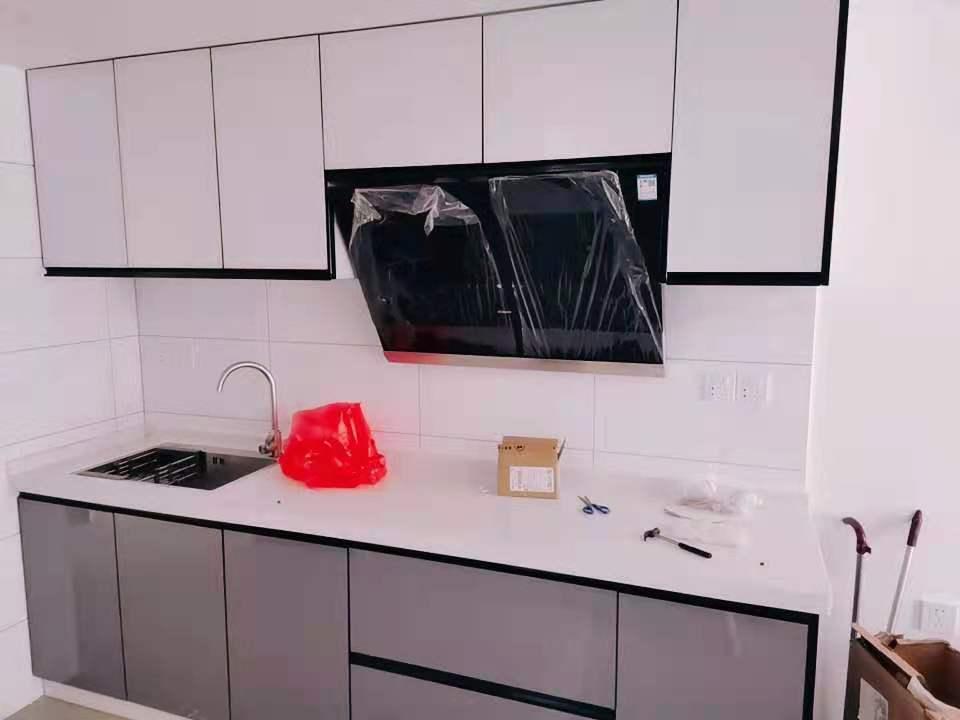 奥园公寓现代简约装修效果图