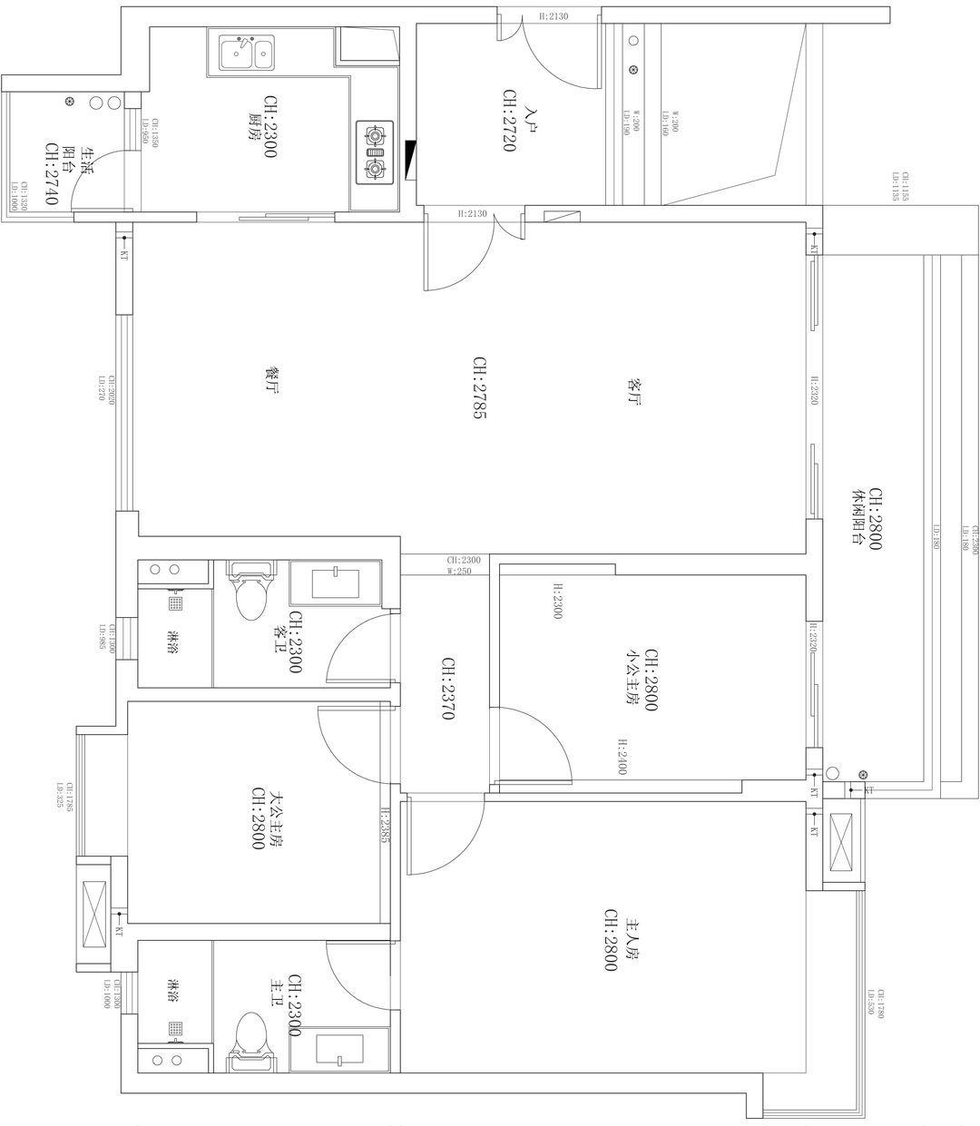 新城公馆现代简约装修效果图