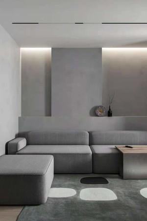 天津68㎡欧式风格装修效果图