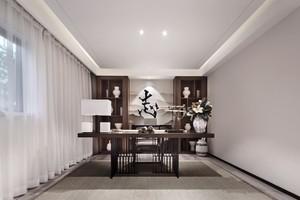 天津140㎡中式风格装修效果图