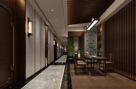 紫瑯宴餐廳裝修設計案例