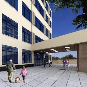 摩泰辦公大樓裝修設計案例