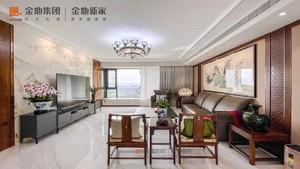 武汉200㎡中式风格装修效果图