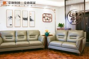 武汉74㎡中式风格装修效果图