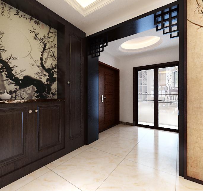 天山熙湖中式风格装修效果图