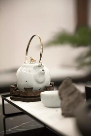 武汉125㎡中式风格装修效果图