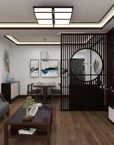 中式现代-荷塘月色