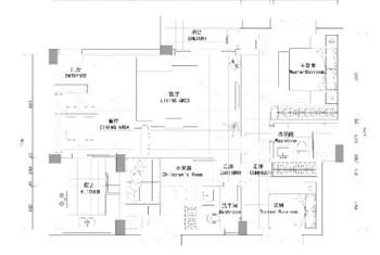 美式風格-朗陶居丨美式三居溫馨家
