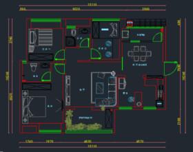 黃金時代丨幸福的四口之家裝修設計案例