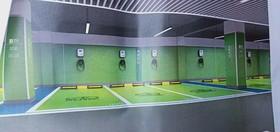 中交中央公園D區地下停車場裝修設計案例