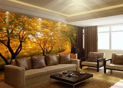多彩墙面壁纸 帮你装饰缤纷房屋