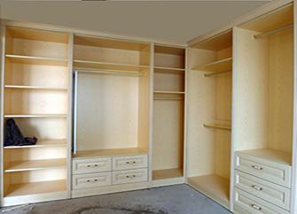 开放式衣柜的优缺点介绍 开放式衣柜效果图