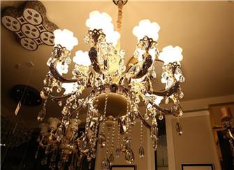 建湖装饰分享欧式水晶吊灯选购要点 不仅是外观