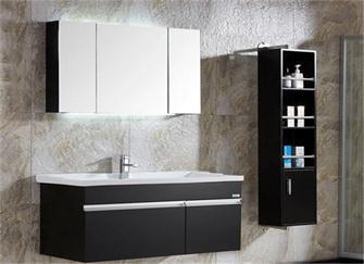 浴室柜哪种材质比较好 壁挂柜还是落地柜