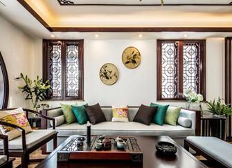 花都133平三室两厅新中式风格 带你走进中式的魅力